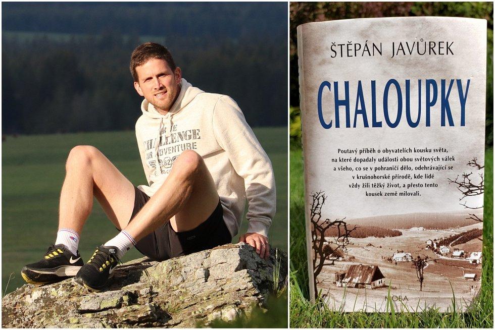 Spisovatel Štěpán Javůrek a jeho kniha Chaloupky