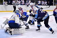Mostečtí lvi (v modrém) v zápase s Řisuty.
