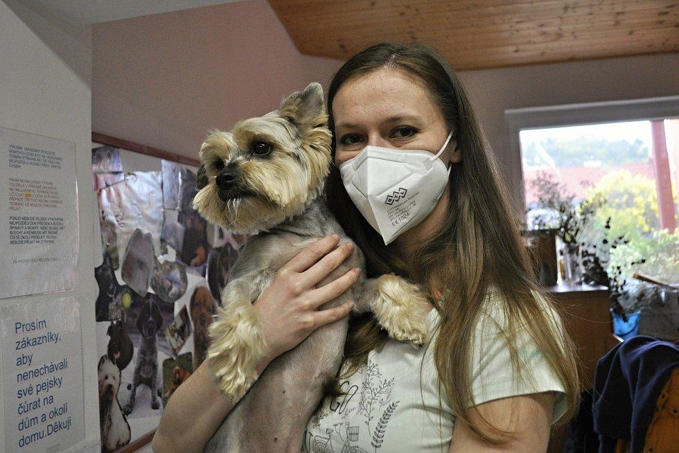 V pondělí 3. května se otevřely také psí salony