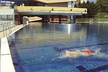 Pro veřejnost se otevřely venkovní bazény aquadromu.