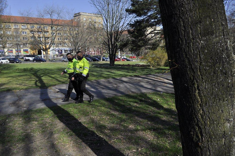 Městská policie v Mostě se v úterý 27. dubna zapojila do celostátní akce Jehla.