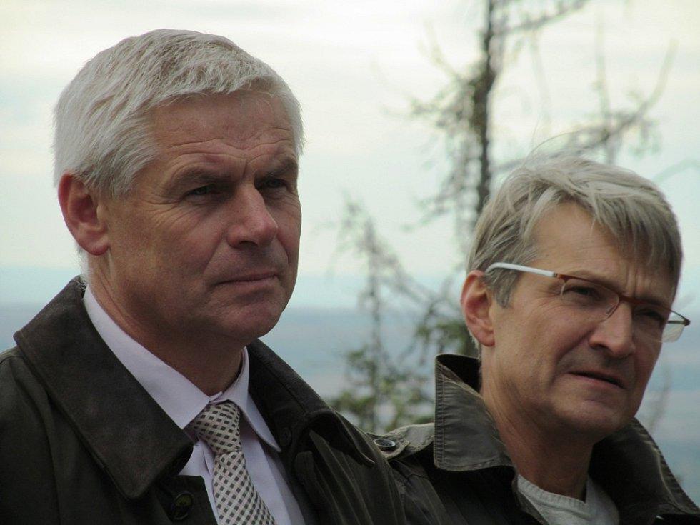 Milan Šťovíček a Jan Svěrák.