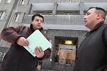 Radek Grundza a Dušan Horváth podali oficiální oznámení o konání pravidelných shromáždění Romů.