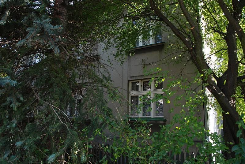 Litvínovský Chudeřín, tady byla spořitelna.