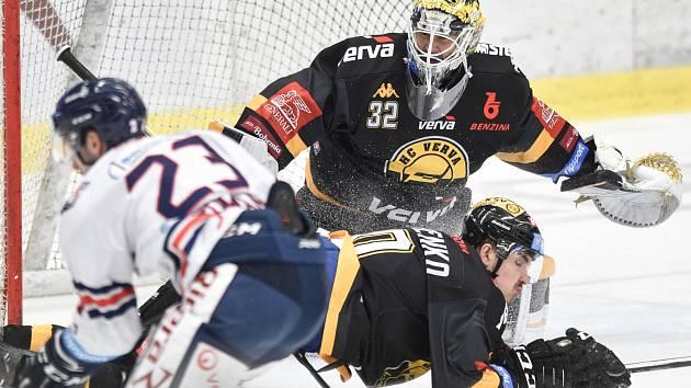 Litvínovští hokejisté v posledním zápase základní části prohráli 1:5 ve Vítkovicích a to je odsoudilo do bojů v play out.