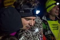 Triatlonista Tomáš Langhammer při minulém ročníku Wintermana.