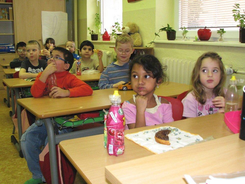 Děti v přípravné třídě. Ilustrační foto.
