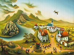 Obraz Eduarda Bárty z Mostu
