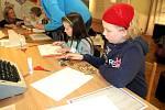 Oblastní muzeum a galerie v Mostě hostily v sobotu výtvarnou dílnu pro rodiče s dětmi.