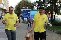 Lídr STAN Filip Ušák (vlevo)