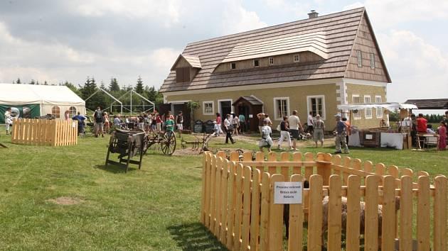 Muezum na Lesné v Krušných horách.