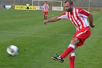 Soušský fotbalista Petr Ihracký.