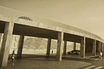 Vyhrála jednoduchost a praktičnost. Návrh mostu přes ulici Mezibořská v Litvínově.