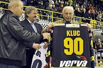 Miroslav Kluc na litvínovském stadionu.