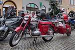 Motocykl JAWA.