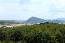 Ilustrační snímek. Výhled na krajinu Mostecka