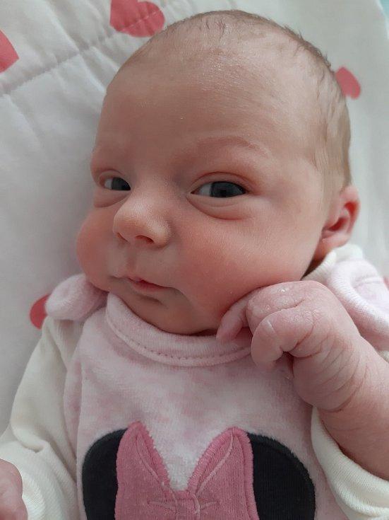 Sofie Pilná se narodila mamince Andree Pilné z Mostu 17. prosince ve 23.09 hodin. Vážila 2,25 kilogramu.