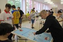 V mosteckém SVČ se hrál Pohár United Energy ve šprtci.