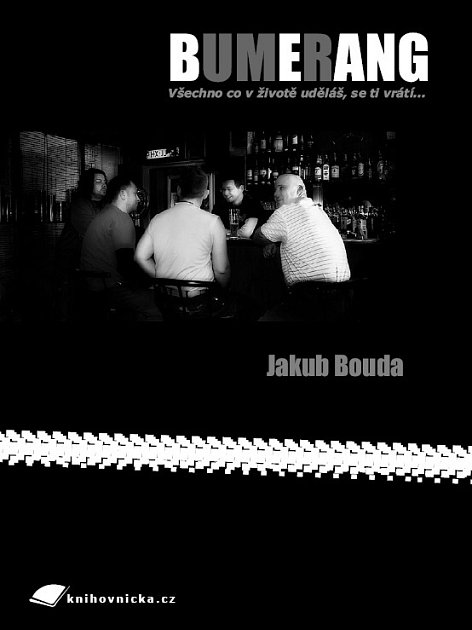 Obálka knihy Bumerang Jakuba Boudy.