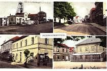Dolní Jiřetín na staré pohlednici.