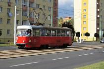 O víkendu nebudou v Mostě jezdit tramvaje.