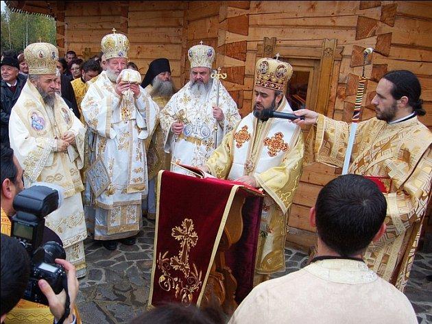 Vysvěcení kostela vříjnu 2011.
