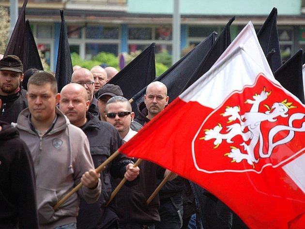 Pietní pochod Reho 2013 v Litvínově.