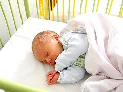 Nový člen rodiny Šťovíčků. Jmenuje se Martin. Narodil se 9. května, den po reportáži, v mostecké nemocnici. Tatínek Milan byl u porodu.