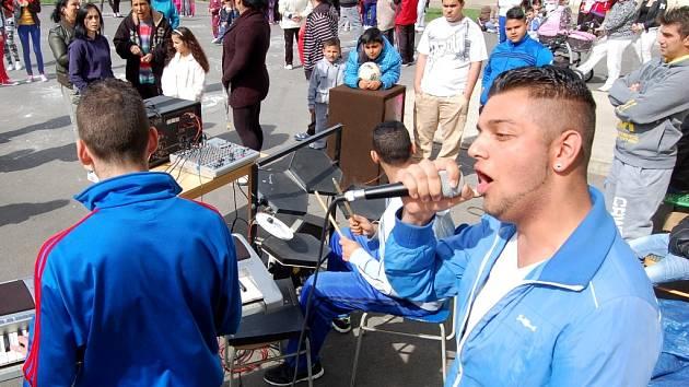 Oslava Mezinárodního dne Romů v Chánově.