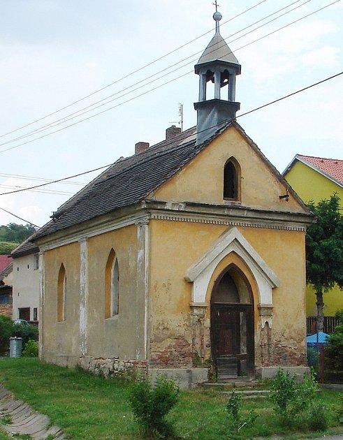 Obrnická kaple před čeká na rekonstrukci.