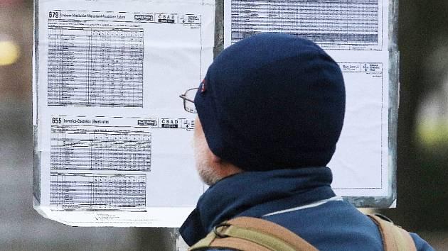 Existují obavy, že řidiči autobusů budou stávkovat a v dopravě nastanou komplikace.