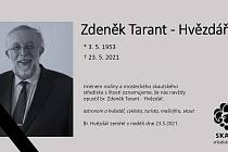 Zemřel Zdeněk Tarant.