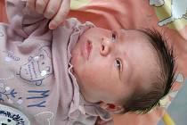 Evelýna Emili Chromá se narodila mamince Adéle Michálkové z Mostu 11. prosince 2020 v 5.15. Měřila 49 cm a vážila 3,51 kilogramu.