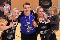 Mostecké házenkářky vyhrály nad Slavií osmý český titul.