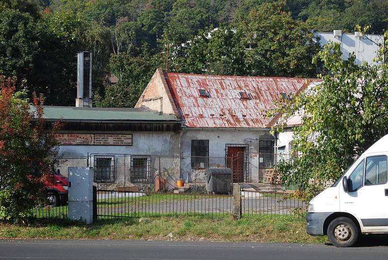 Litvínovský Chudeřín, bývalá krouhárna zelí.