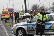 Smrtí řidiče skončila dopravní nehoda u Kopist