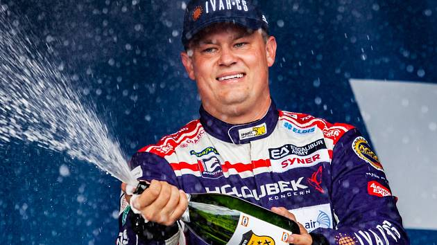 Adam Lacko z týmu Buggyra Racing.