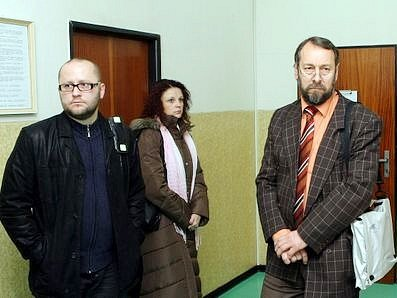 Obžalovaný Bohumil Bradáč (vpravo) a Josef Pulkert.