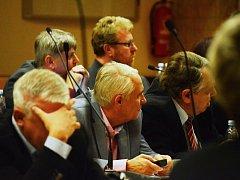 Jednání mosteckého zastupitelstva