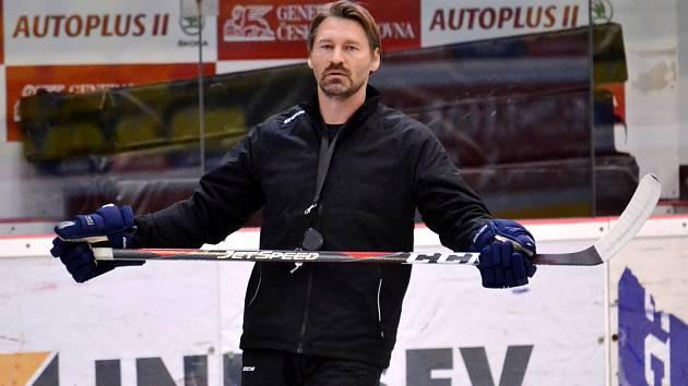 Litvínovský trenér Vladimír Országh neměl po premiéře důvod k radosti.