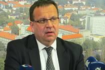 Ministr průmyslu a obchodu Jan Mládek.