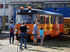 Dopravní podnik měst Mostu a Litvínova uspořádal Den otevřených dveří