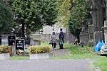 Starý mostecký hřbitov zažívá první návštěvnickou vlnu. Obavy jsou z víkendu