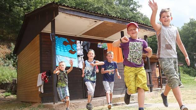 Ilustrační foto - Letní dětský tábor