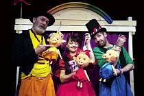 Divadlo rozmanitostí v sobotu uvede pohádku Tři čuníci nezbedníci.