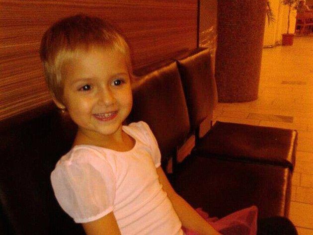 1. Adéla Kučerová - 6let, Litvínov.
