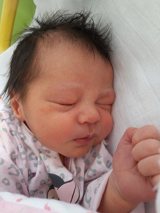 Mellisa Nella Šerešová se narodila mamince Adéle Rysové z Lomu 26. prosince v 1.15 hodin. Měřila 49 cm a vážila 3 kilogramy.