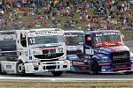 Závody tahačů Czech Truck Prix na autodromu v Mostě.
