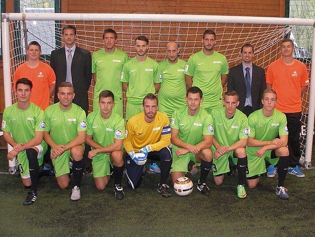 Mostecký výběr v celostátní Lize malého fotbalu.