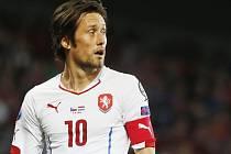Kapitán českého fotbalového týmu Tomáš Rosický.